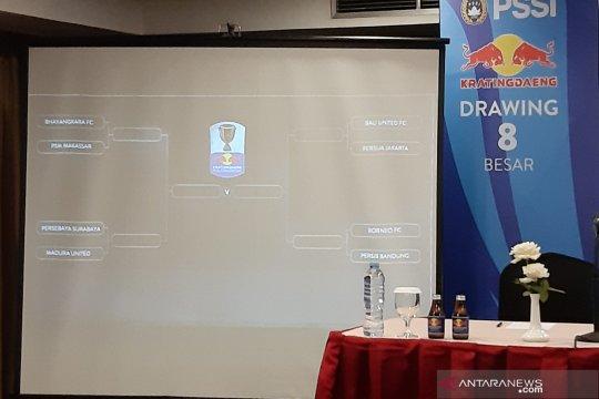 Borneo FC versus Persib awali babak delapan besar