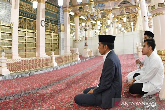 Presiden ziarah ke makam Nabi Muhammad SAW