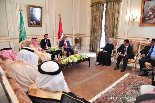 Presiden Jokowi ajak Arab Saudi kerja sama syiarkan Islam toleran