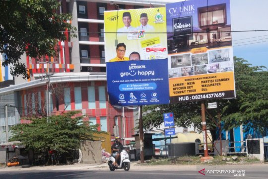 APK masih terpasang di Kota Kupang