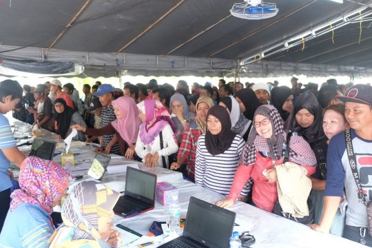 Jokowi-Ma'ruf ungguli Prabowo-Sandi di Brunei Darussalam