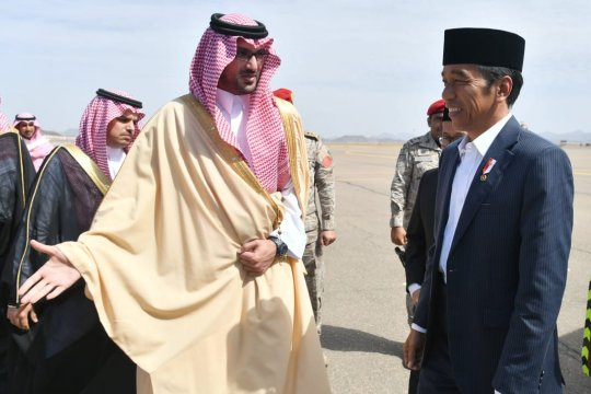 Presiden minta Indonesia jadi prioritas Arab Saudi