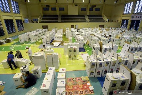 Distribusi logistik Pemilu di Jakarta
