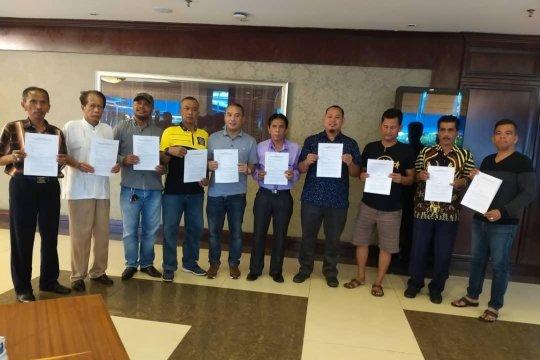 Relawan buat pernyataan bersama dugaan surat suara tercoblos