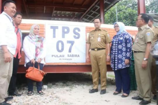 Anies memastikan kesiapan pemilu di Pulau Sabira