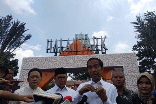 Presiden belum terima RPP Jaminan Produk Halal