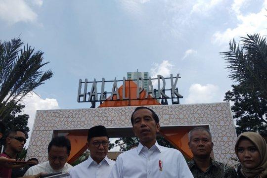 Jokowi: usai mencoblos mau tidur saja