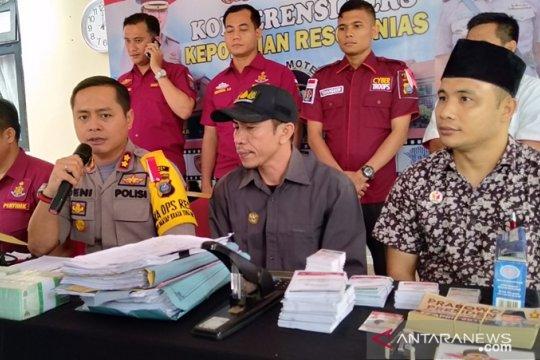 Polisi OTT ketua tim pemenangan capres di Kepulauan Nias