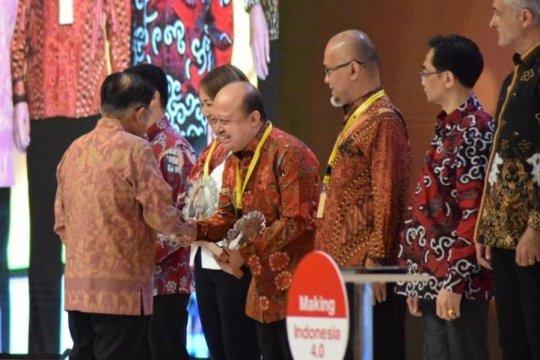Pupuk Kaltim raih penghargaan INDI 4.0 dari Kemenperin