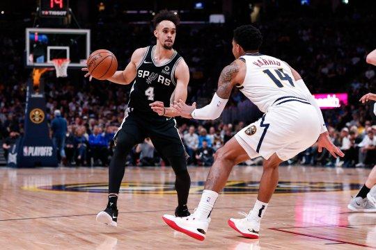 Murray bawa Nuggets samakan kedudukan 1-1 dengan Spurs