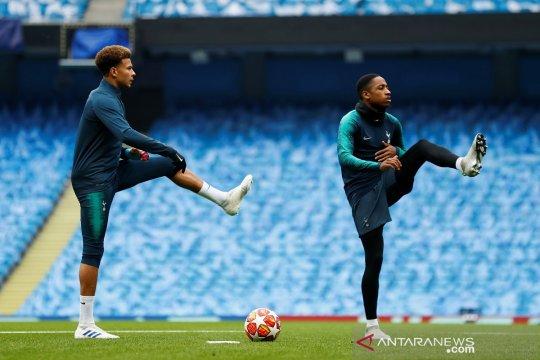 Ikut latihan, Alli dan Lamela mungkin bela Tottenham hadapi City