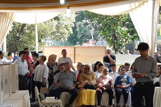 Anak-anak Soeharto terdaftar di TPS 02 Gondangdia