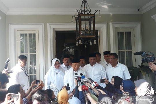 Ma'ruf Amin ajak masyarakat datang ke TPS