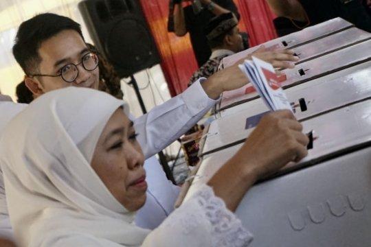 Gubernur Jatim ajak hormati hasil penghitungan suara