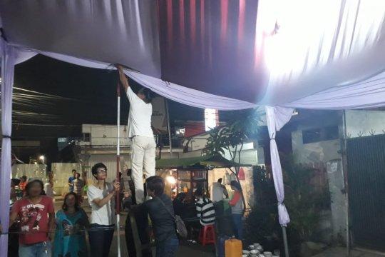 TPS sekitar Jalan Jaksa siap, warga harapkan Pemilu lancar