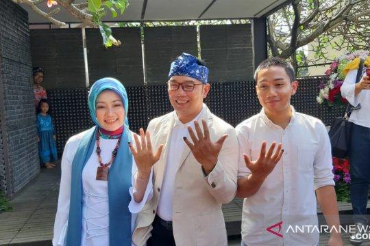Usai mencoblos, Ridwan Kamil ajak warga manfaatkan diskon belanja