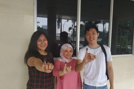 Pemilih muda antusias berikan hak suara