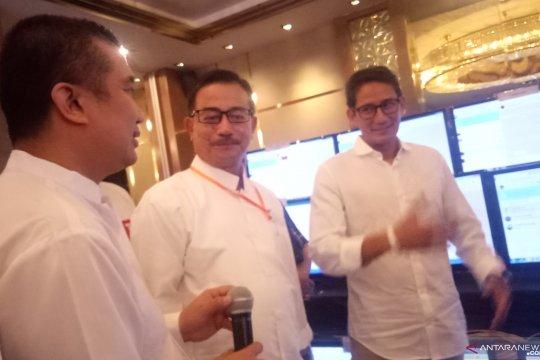 Sandiaga tinjau Posko Monitoring Relawan di Hotel Ambhara