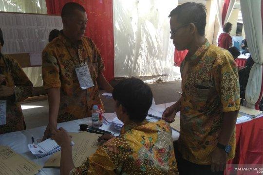 KPPS TPS Ma'ruf Amin sudah tutup pendaftaran pemungutan suara
