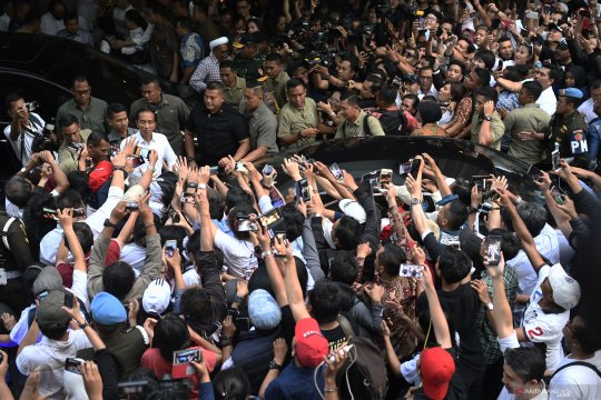 Pendukung Jokowi sambut baik hasil pemungutan suara Pilpres 2019 di AS