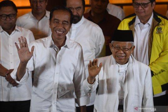 Pasangan Jokowi-KH Ma'ruf Amin unggul di Kulon Progo