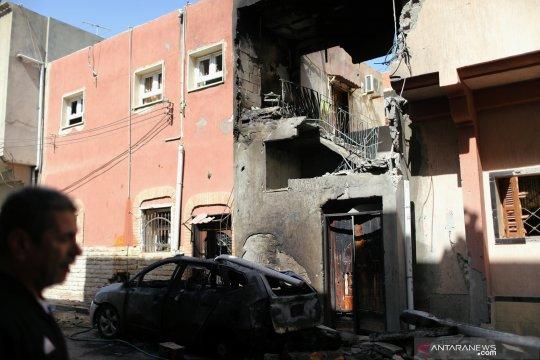 Serangan roket tewaskan enam orang di ibu kota Libya