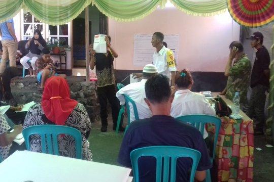 Pasangan Jokowi-Ma'ruf kalah di TPS Gubernur Malut