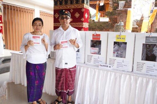 Wakil Wali Kota Denpasar mencoblos di TPS 18