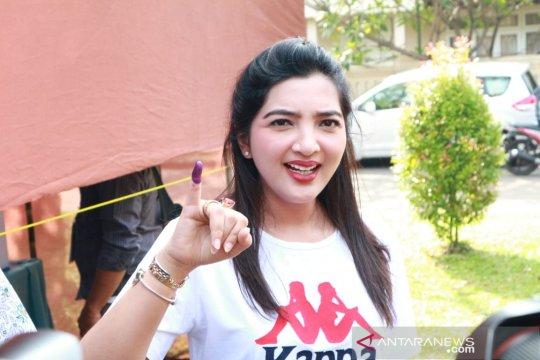 Ashanty bahagia Anang tidak ikuti pencalonan anggota DPR