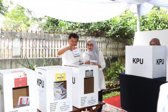 Wapres JK Harap KPU Bekerja Jujur