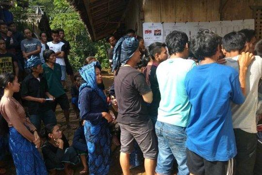 Masyarakat Badui turun gunung sukseskan pemilu