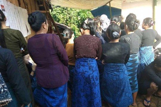 Warga Badui bersemangat datangi TPS