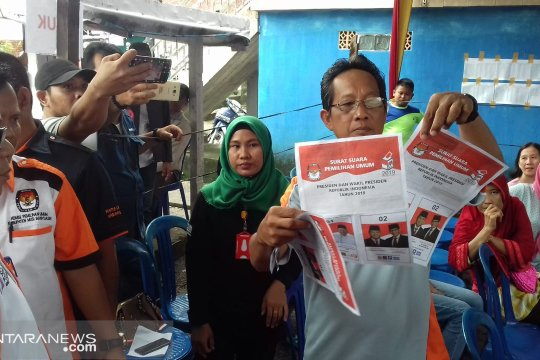 Prabowo ungguli Jokowi di Sumsel