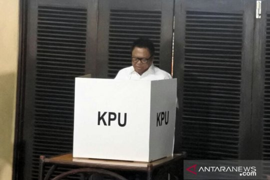 OSO coblos surat suara di Kuningan Timur Jakarta