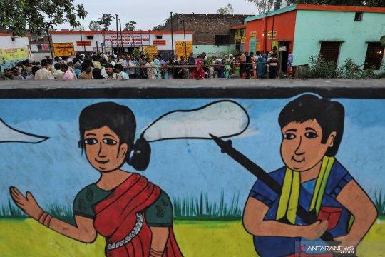 Pelaksanaan pemilihan umum di India