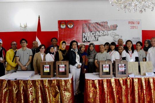 Jokowi unggul di Bulgaria, Makedonia Utara, dan Albania