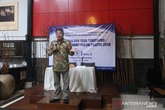 Hitung Cepat LSI Denny JA dinilai paling presisi di Pilpres 2019
