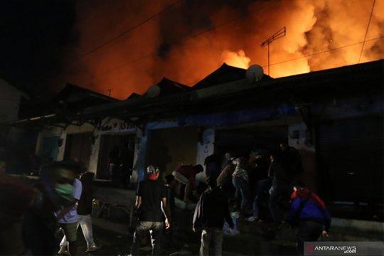 Kebakaran gudang Hotel Sheraton Media tewaskan satu orang