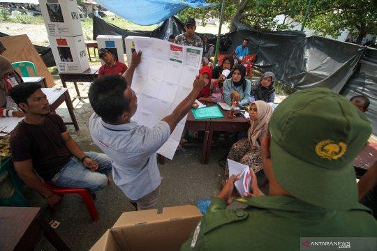 KPU Palembang laksanakan pemungutan suara lanjutan di dua TPS