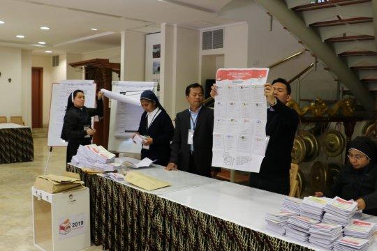 Jokowi-Ma'ruf menangi 99 persen di Vatikan