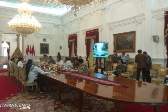 Presiden bahas peningkatan kerja sama dengan Arab Saudi di istana