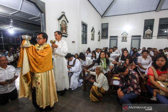 Misa Kamis Putih di Yogyakarta