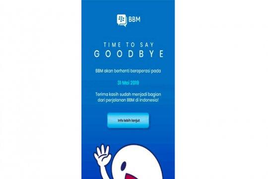 BBM hentikan layanan pada 31 Mei