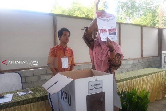 Penghitungan suara pemilu di daerah terdampak bencana selesai Kamis