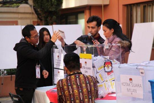 Jokowi dan Maruf unggul Pilpres di Roma Italia