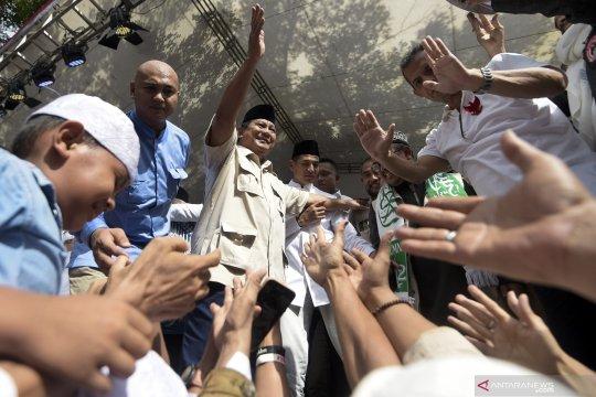 Acara syukuran Prabowo