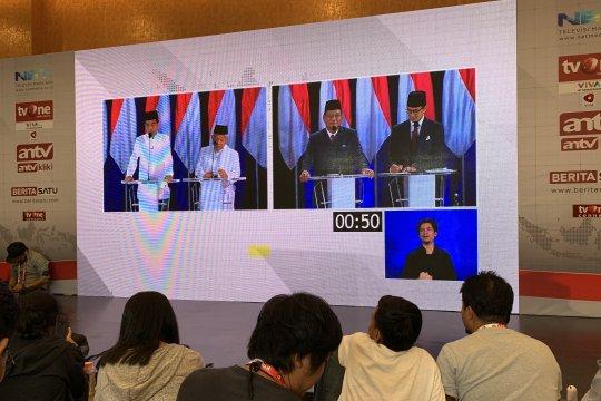 Beda strategi dua kubu respons hasil sementara pemilu
