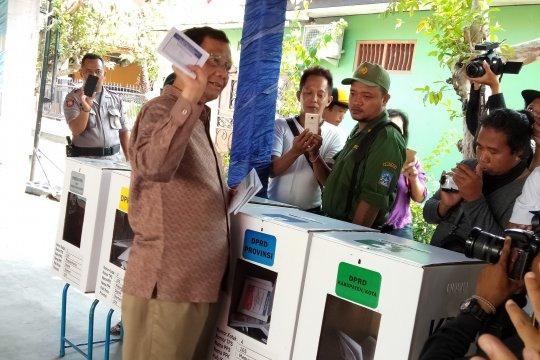 Mahfud MD : sampai saat ini belum ada pemenang resmi Pemilu 2019