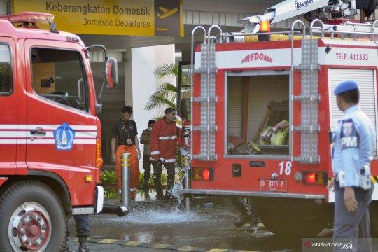 Kebakaran Bandara Ngurah Rai Bali sudah dipadamkan