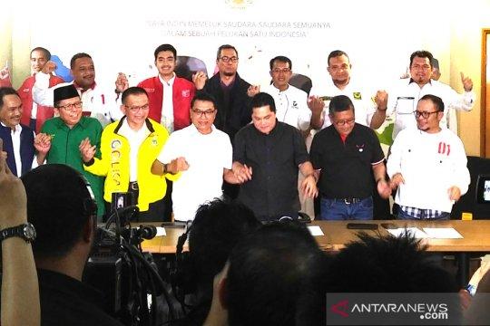 TKN Jokowi-Ma'ruf Amin sampaikan enam pernyataan resmi